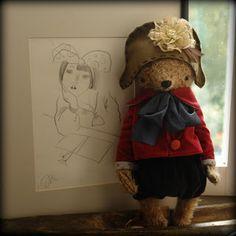13 bears by Sasha Pokrass Vintage Teddy Bears, Cute Teddy Bears, Vintage Toys, Textile Sculpture, Teddy Toys, Love Bear, Bear Doll, Brown Bear, Softies