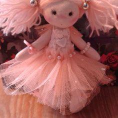Handmade Cloth Fairy, One of A Kind