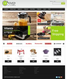 Ecommerce Prestashop Design Alessi, Portfolio Website, Bakeware, Ecommerce, Stoneware, Jar, Design, E Commerce, Design Comics