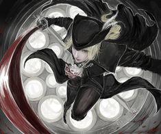 Lady Maria,BB персонажи,BloodBorne,Dark Souls,фэндомы