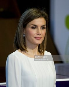 Queen Letizia of Spain attends the Rare Diseases World Day Event at Consejo Superior de Investigaciones Cientificas (CSIC) on March 3, 2016 in Madrid, Spain.  (Photo by Juan Naharro Gimenez/Getty Images)