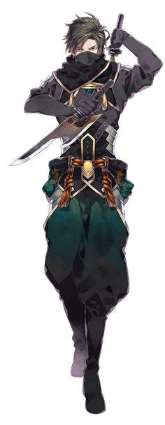 Hyakka Hyakurou Sengoku Ninpou-chou | Hattori Hanzou