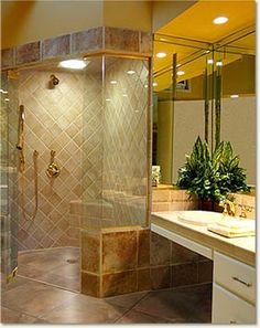 wheelchair accessible shower designs universaldesigntips find more accessible living tips at http - Wheelchair Accessible Bathroom Design