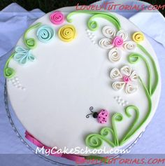 tutorial fondant quilling (this can easily be done with polymer) http://www.lovelytutorials.com/forum/showthread.php?t=2642