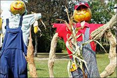 midwest weekends...the ultimate guide to what's going on in iowa, wisconsin, minnesota, illinois and michigan in autumn...pictured is scarecrow festival in st. charles, illinois...check out the events tab