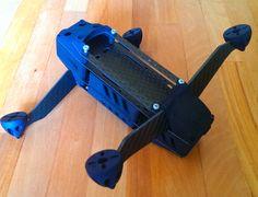 Shrediquette - the award-winning multirotors by William Thielicke: Aerodynamics in racing multirotors!