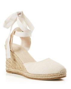 Soludos Platform Espadrille Wedge Sandals - Tall Linen | Bloomingdale's