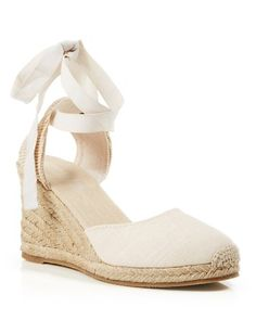 Soludos Platform Espadrille Wedge Sandals - Tall Linen | Bloomingdale's