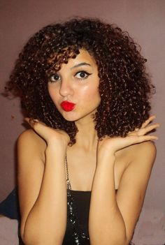 Really hoping this is what my hair looks like once all of the relaxed stuff is gone!