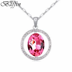 2016 new design 100%Crystal from Swarovski Pendant Necklace for women jewelry party Accessories