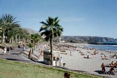 Los cristianos tenerife... I went here for Xmas one year .. It was still hot