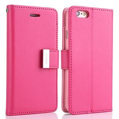 tiekou 6s - Hot Pink  http://topcellulardeals.com/product/tiekou-6s/?attribute_pa_color=hot-pink  New released stylish & lovely flip cover case,exclusively design for iPhone 6/6S 4.7 inch Made of top quality synthetic leather and TPU back cover case for anti-shock,durable protection and magnetic closure for additional security Unique dual card slots design,totaly 5 card slots and 1 picture holder ,very convenient for you to storge photo,bank card,credit card,business card