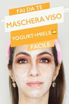 Una ricetta di maschera viso fai da te facile! Questa è una maschera viso miele e yogurt ideale per pelli sensibili e con proprietà lenitive e anti-age!  #abibyxpinterest #greenforclean #mascheraviso Brown Spots On Skin, Skin Spots, Brown Skin, Dark Spots, Moisturizer For Oily Skin, Oily Skin Care, Skin Care Tips, Skin Moles, Acne Skin