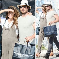 LA 9/7/17 (9 July 2017) Ian Somerhalder TVD Star with wife Nikki Reed