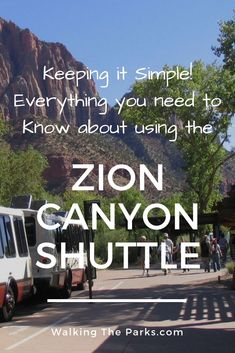 March through November, the Zion Canyon Shuttle is the only way into Zion Canyon. Let us show how super easy it is to use the Zion shuttle to explore! Us Travel Destinations, Places To Travel, National Parks Usa, Zion National Park, Utah Vacation, Vacation Trips, Utah Camping, Family Camping, Zion Canyon
