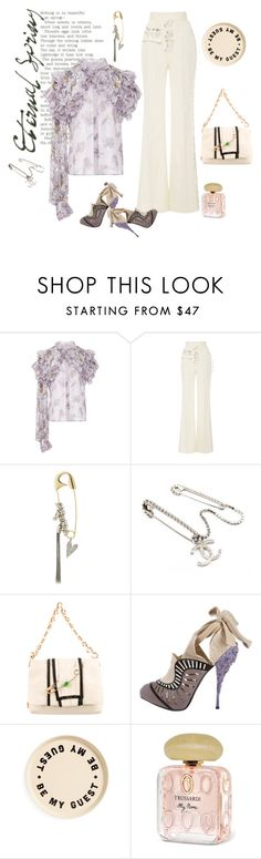 """""""Not in my name"""" by juliabachmann ❤ liked on Polyvore featuring Rodarte, Sonia Rykiel, Chanel, Marc Jacobs, Nicholas Kirkwood, Izola and Trussardi"""
