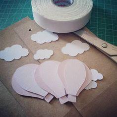 Nuvem produzindo... Caixinhas balão :)