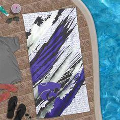 K-State Wildcats Painted Beach Towel  @Fanatics ® #FanaticsWishList