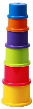 """BabyOno Пирамидка Цифры  — 280р. ------------------------------- Пирамидка BabyOno """"Цифры"""" - это развивающая игрушка для малышей. В исходном виде представляет собой шесть разноцветных """"стаканчиков"""", из которых собирается небольшая объемная пирамидка. Игрушка знакомит малыша с основными цветами, тренирует моторику и пространственное мышление, знакомит с понятиями """"больше-меньше"""". Игрушка изготовлена из безопасных и прочных материалов. Для детей от 9 месяцев."""