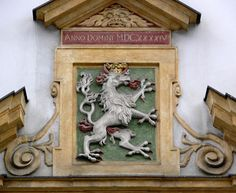 Zeughaus Graz, Styrian coat of arms (silver panther):