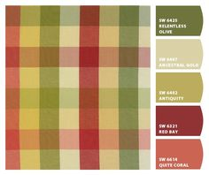 My favorite french country colors by Sherwin-Williams – fabric....