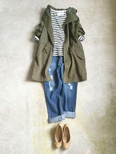 ナチュラル服のイタフラ  さんのミリタリージャケット「italie to france 」を使ったコーディネート