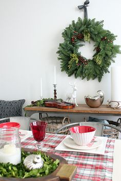 Simple Christmas Decorating The Inspired Room Christmas Tour