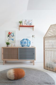 Some timeago, I discovered Bonnesoeurs through Pinterest. They have great boards and stands out for a pretty children's room with ahandmade house-shaped bed. Their project has grown over the course of the years, with décor proposals that are both stylish and very personal.Bonnesoeurs is a French agency for decoration, design and photography founded 2009 by […]