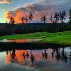 Gold Mountain Olympic Golf Course, Bremerton, Washington -...