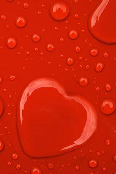 Heart Water Drop