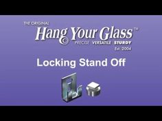 Locking Stand-Offs - Hang Your Glass