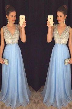 Beading Long Prom Dresses ,Popular Party Dress,Fashion Formal Dress