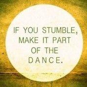 #blog over hokjes, jezelf zijn en struikelen als deel van je levensdans zien: http://katjalinders.nl/struikel-je-maak-het-deel-van-je-dans/ #ennuaandeslag