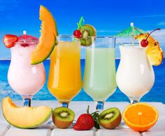 Best Mixed Drinks, Mixed Drinks Alcohol, Cocktails, Cocktail Drinks, Healthy Juices, Healthy Fruits, Fruit Drinks, Alcoholic Drinks, Fruit Fruit