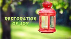 Restoration of Joy (David Wilkerson)