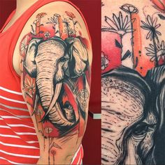 #tattoofriday - Dino Nemec, Columbia, Ohio.