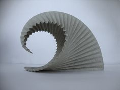 Andrea Russo - Paper Sculpture- The Great Wave of Kanagawa