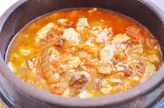 Kimchi Soondubu Jjigae is one of the variations of the spicy soft tofu stew (순두부 찌게 Soondubu Jjigae) that I wrote about some time ago. I know that my original recipe may taste a bit bland to some people and if that's the case for you, you really have to try this version with kimchi...Read More »