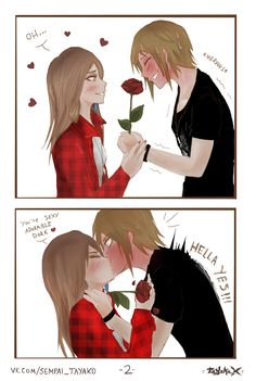 - Did you bring flowers to my dressing room? - I guess i owe you. Rachel Life Is Strange, Life Is Strange Fanart, Yuri, Amber Price, Chloe Price, Anime Furry, Cute Anime Character, Cute Gay, Anime Couples