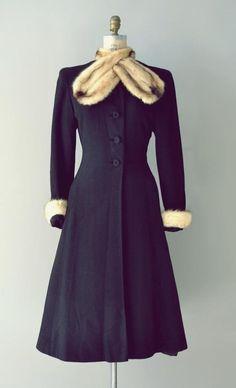 Vintage coat 30s
