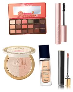 Untitled #2 by talkingwithvenesa on Polyvore featuring polyvore, beauty, Too Faced Cosmetics, Chanel and Christian Dior