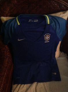 brasil nike 2016 producto exclusivo blue soccer jersey NWT size S women's | Sports Mem, Cards & Fan Shop, Fan Apparel & Souvenirs, Soccer-International Clubs | eBay!