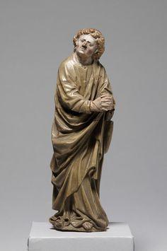Johannes einer Kreuzigungsgruppe, 1. Drittel 15. Jahrhundert | Kunsthistorisches Museum Wien, Kunstkammer