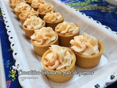 No Cook Appetizers, Antipasto, Mini Cupcakes, Starters, Finger Foods, Catering, Food And Drink, Cooking Recipes, Pudding