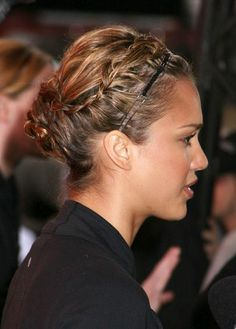 love the braid.. but the headband is not really necessary