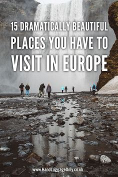 15 Dramatically Beautiful Places You Have To Visit In Europe - Hand Luggage Only - Travel, Food & Photography Blog