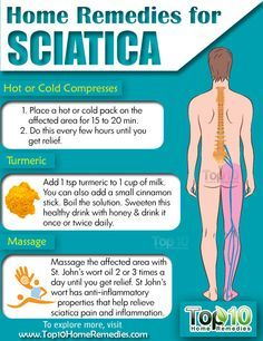 Sciatica: Remedies and Exercises for Natural Pain Relief Prev of Sciatica is pain caused by irritation or compression of the sciatic nerve. It usually affects only one part of the body but tends to be severe and debilitating. The pain usually e Sciatica Pain Relief, Sciatic Pain, Sciatica Pillow, Natural Pain Relief, Back Pain Relief, Fitness Workouts, Douleur Nerf, Acupressure Treatment, Health And Wellness