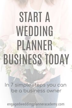 wedding planner Starting a wedding planning business is easy breezy if you these steps. Get your free wedding planner resource guide today. Steps In Planning, Wedding Planning Tips, Wedding Tips, Budget Wedding, Diy Wedding, Planning App, Wedding Quotes, Spring Wedding, Garden Wedding