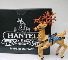 HANTEL-Miniatures-RUDOLPH-Reindeer-by-Frances-Wilson-2006-Made-in-Scotland