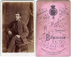 Ok So These Are Not Quite Vintage Postcards But I Thought Id Share Some Interesting Carte De Visite CDV That Came Across Rece